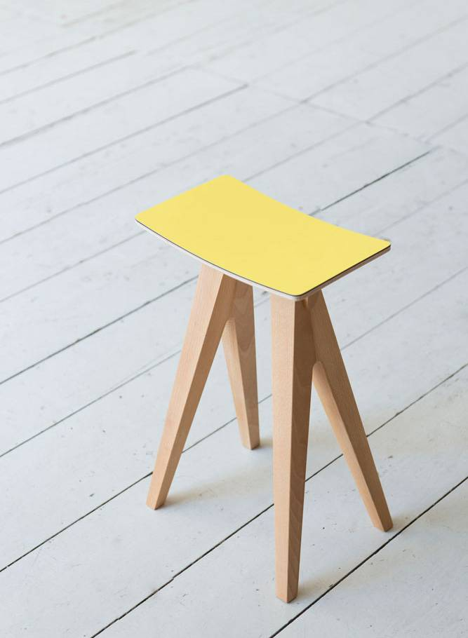 """Alex Valder Stool """"Hoekkerle 329"""" - Available in 6 different colors"""
