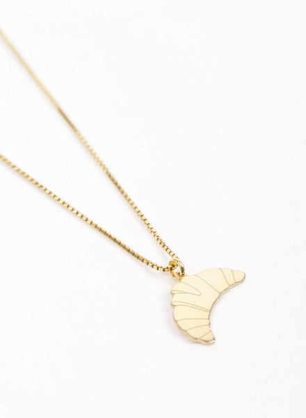 "Jukserei Necklace ""Croissant"" Gold"