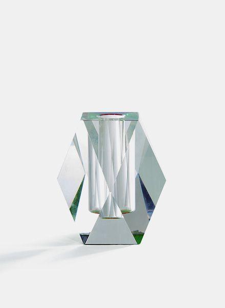 """Fundamental Vase """"Regenbogen"""" - Kerzenhalter und Blumenvase aus Glas"""