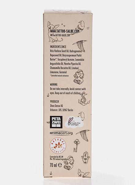 Tattoo Salbe Tattoo ointment - 100% natural ingredients