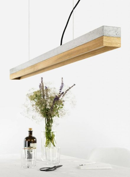 "GANTlights Lamp concrete ""C1"" oak"