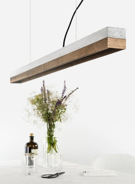 "GANTlights Lamp concrete ""C1"" Walnut"