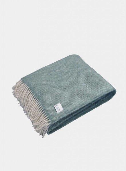 "Coudre Berlin Blanket ""Pick Stitch"" Greenstone"