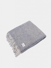 "Coudre Berlin Blanket ""Pick Stitch"" Grey"