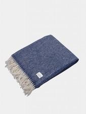 "Coudre Berlin Blanket ""Pick Stitch"" Blue"