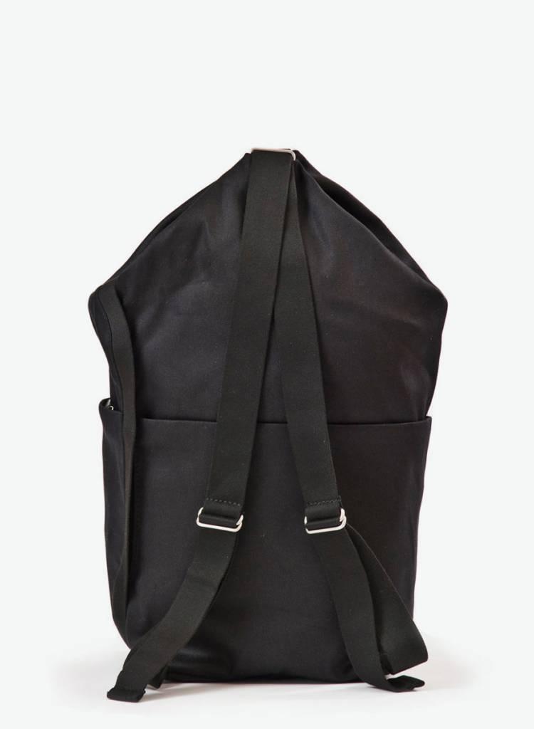 """Hänska Backpack """"Lucid.2 """" Organic Black Cotton by Hänska Berlin"""