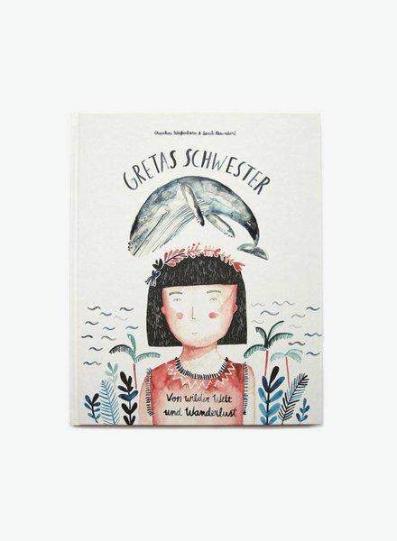 """Gretas Schwester Children's book """"Von wilder Welt und Wanderlust"""""""