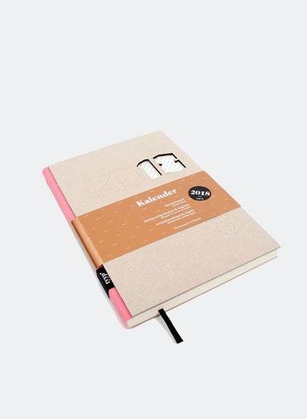 """Tyyp Calendar """"Berlin Book"""" L - G/Rose"""