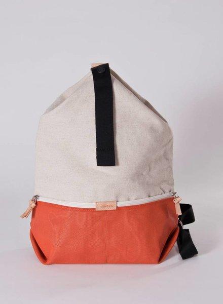 """Hänska Backpack """"Lucid Rust Linen"""""""