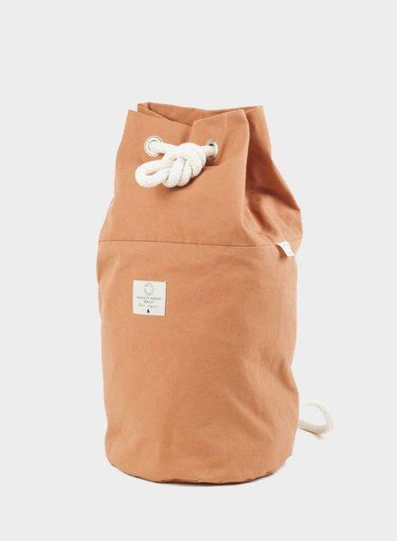 "Marin et Marine Backpack ""rainbag"" caramel"