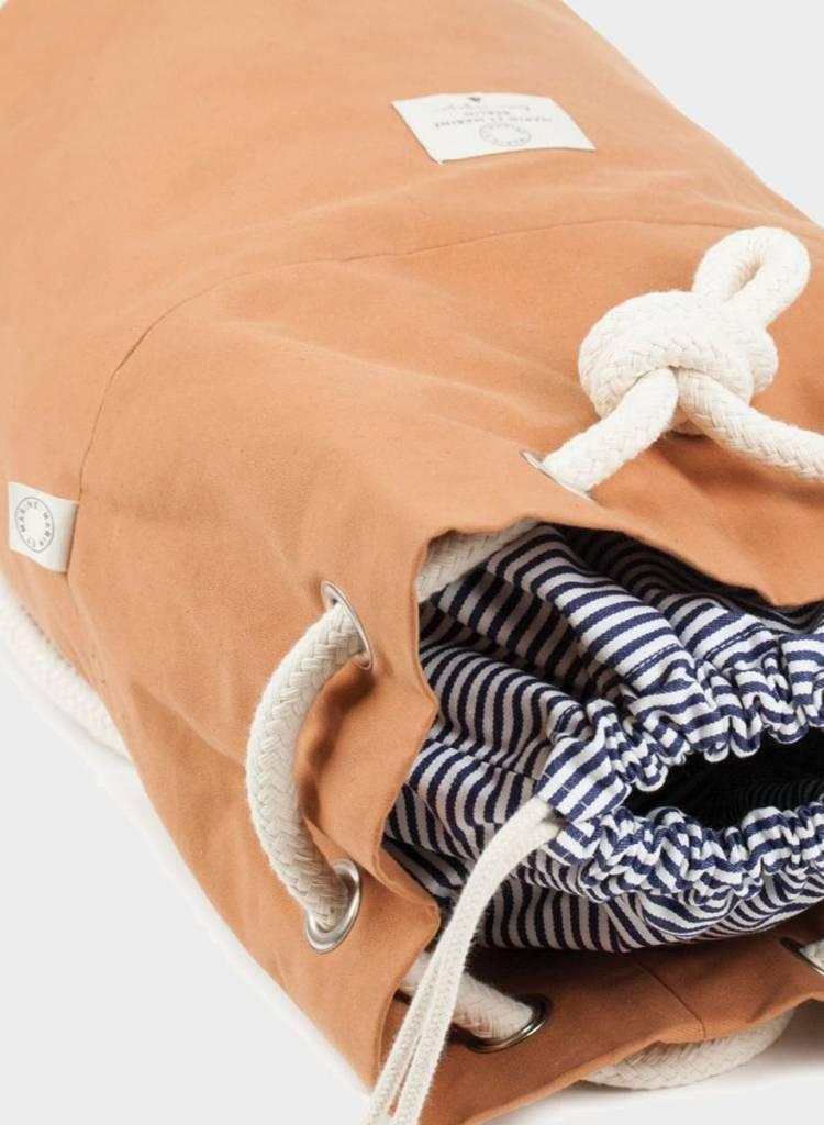 """Marin et Marine Rucksack """"Rainbag"""" caramel - Robustem, wasser- und schmutzabweisend Baumwollstoff"""