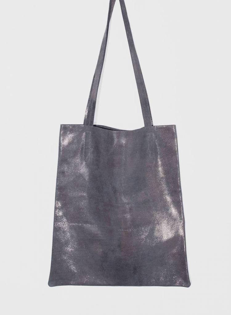 "Matke Leather Bag ""Starlight"" with glitter finish"