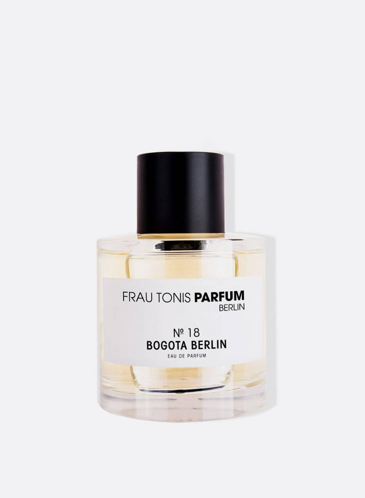 "Frau Tonis Parfum Parfum No. 18 ""Bogota Berlin"" - Peppery, spicy, maritim"