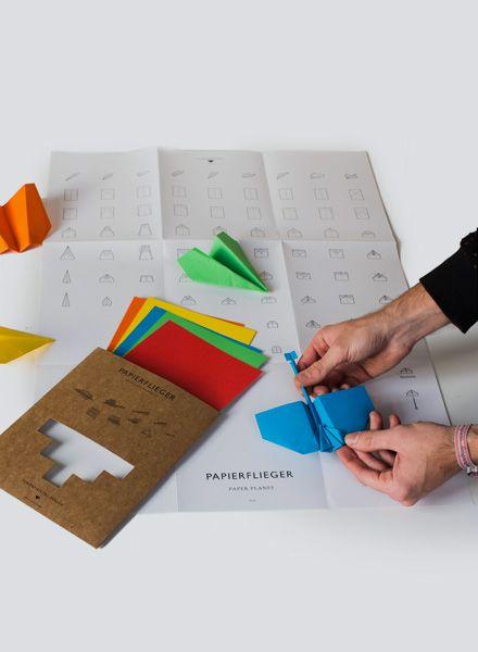 Fundamental Papierflieger I mit Bastelanleitung