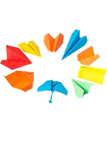 Fundamental Paper Aeroplane I with instructions