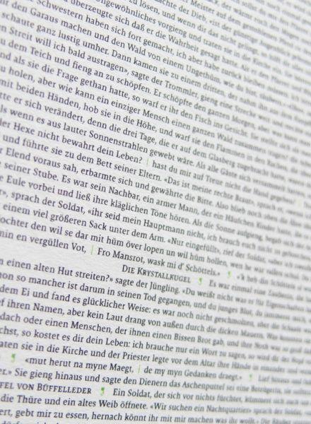 All The World´s ... Grimms Kinder- und Hausmärchen als Poster auf einer Seite