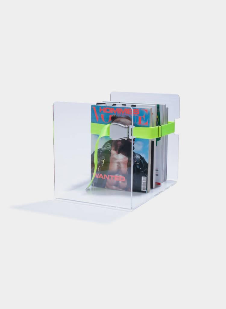"Toshi Magazine rack ""Bendix"" - Made of transparent Acrylic glass"