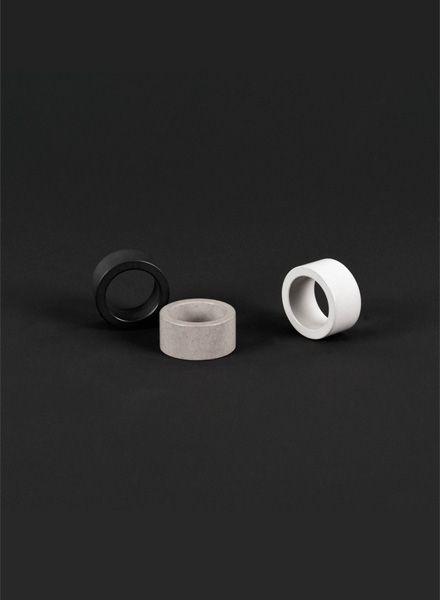 Bergnerschmidt Simplest ring I Concrete ring
