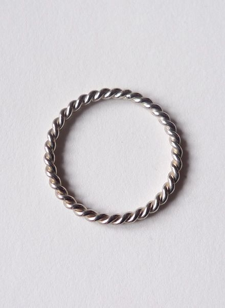 """Felicious Fingering """"Twisted Silber"""" - 925 Silver with polished surface"""