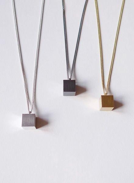 "Felicious Necklace ""Cube"""