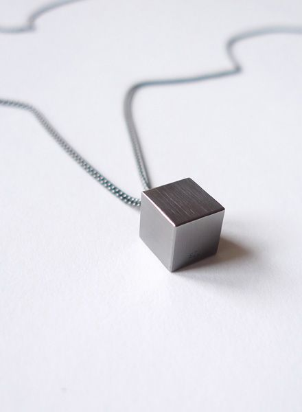 """Felicious Necklace """"Cube"""" - Handcrafted in Berlin by Felicious"""
