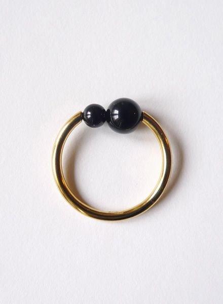 """Felicious Ring """"Balls Gold"""""""