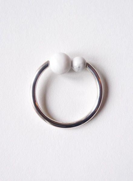 """Felicious Ring """"Balls Silber"""""""