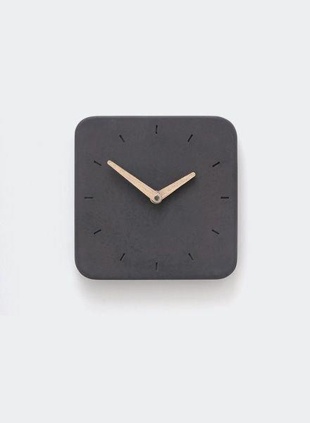 "WertWerke Concrete clock ""classic S"" anthracite"