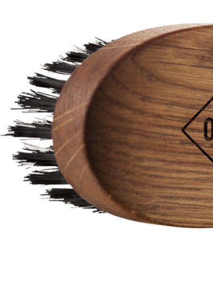 """OAK Beard brush """"OAK"""" - oak wood brush 92 mm x 51 mm"""