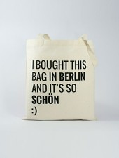 """Officine Berlinesi Tote bag """"I bought this"""""""