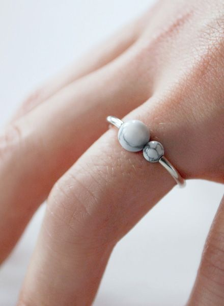 """Felicious Fingerring """"Balls Silver"""" - 925 silver ring with a polished surface"""
