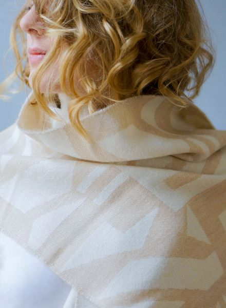 Woolhunter Sike Schal beige