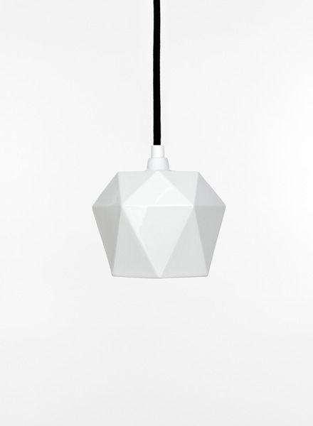 """GANTlights Pendelleuchte """"Triangle K1""""hergestellt aus Porzellan"""