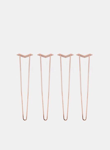 Trivial Project Hairpin legs Tischbeine - Erhältlich in 3 Farben und zwei Höhen