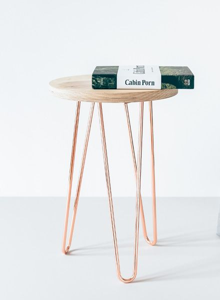"""Trivial Project Hairpin table legs """"Black"""" - Available in 3 colours and two heights"""