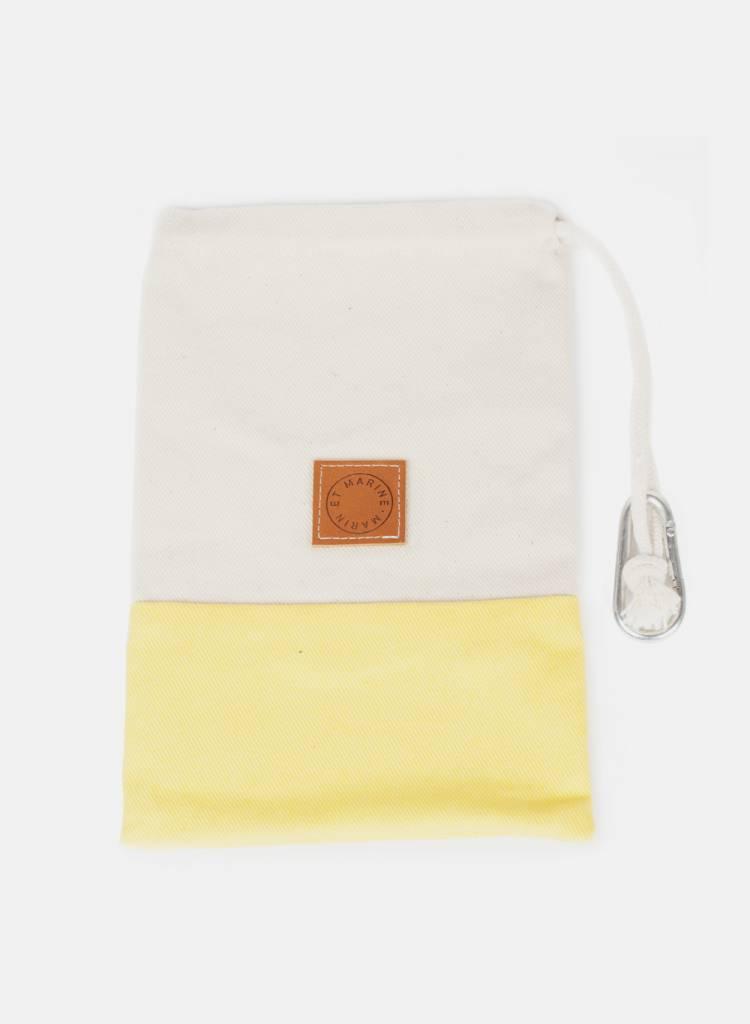Marin et Marine Small bag  made of 100% organic cotton