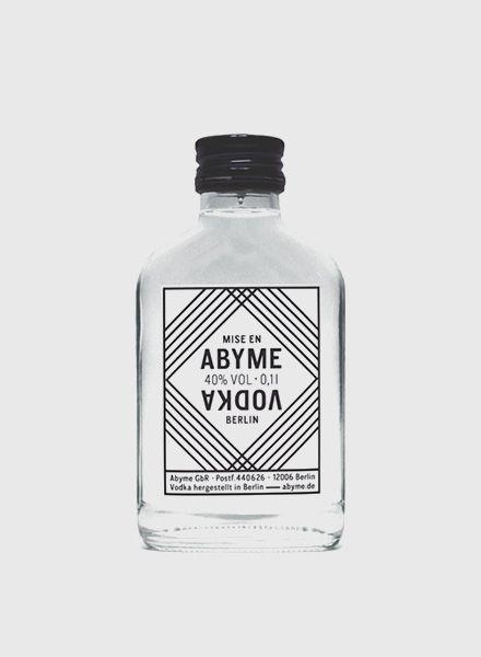 """Mise en Abyme Vodka """"Mise en Abyme"""" - Hochwertiger Vodka aus Berlin"""