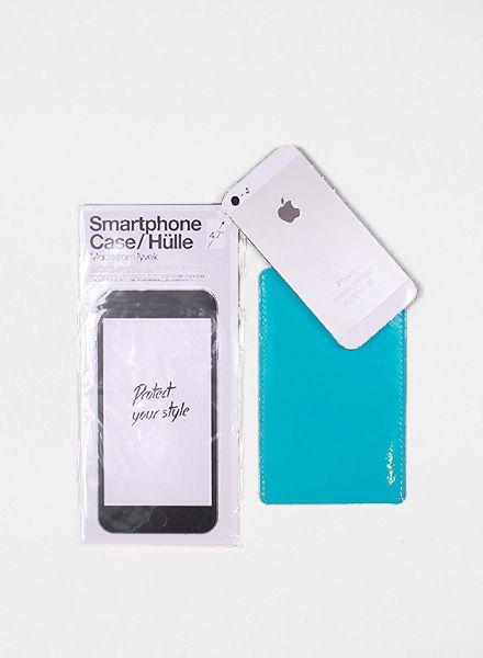 I like Paper Smartphone Case türkis I Handyhülle aus Tyvek für alle Größen, wasser- und reisfest