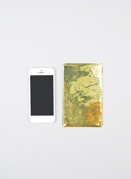 I like Paper Smartphone Case gold I Case made of Tyvek for all mobile sizes, water- and tearproof