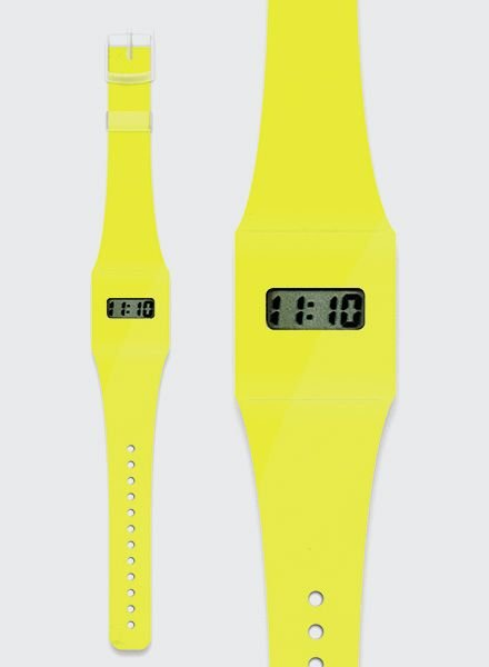 """I like Paper PAPPWATCH """"NEON YELLOW"""""""