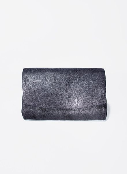 "Matke Purse Starlight ""Mini Wallet""made of soft italien suede leather with glitter finish"