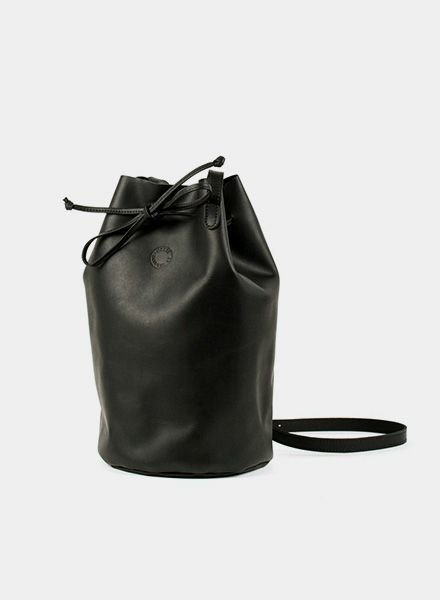 "Marin et Marine Tasche ""Bucket Bag Black"""