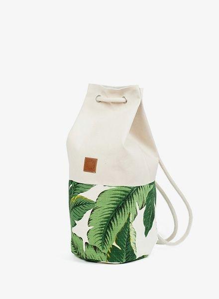 "Marin et Marine Backpack ""Sac Marin Palm"""