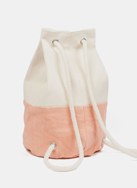 "Marin et Marine Maritime Backpack ""Sac Marin"" for kids made of 100% organic cotton"
