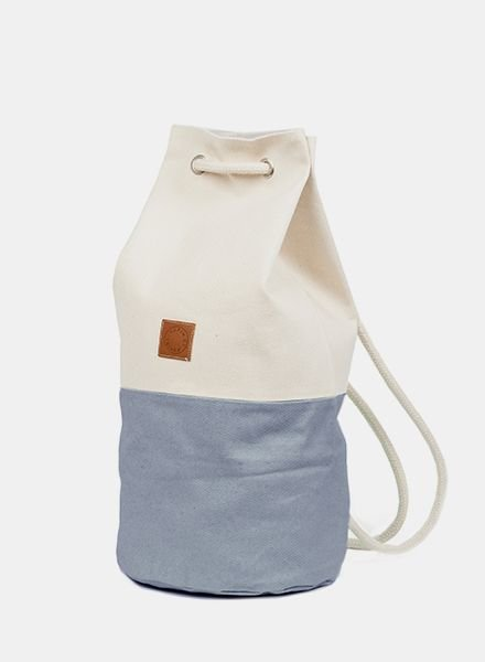 "Marin et Marine Backpack ""Sac Marin"" Grey"
