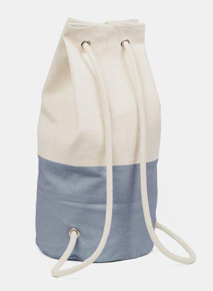 "Marin et Marine Maritime Backpack ""Sac Marin Gallet"" made of 100% organic cotton"