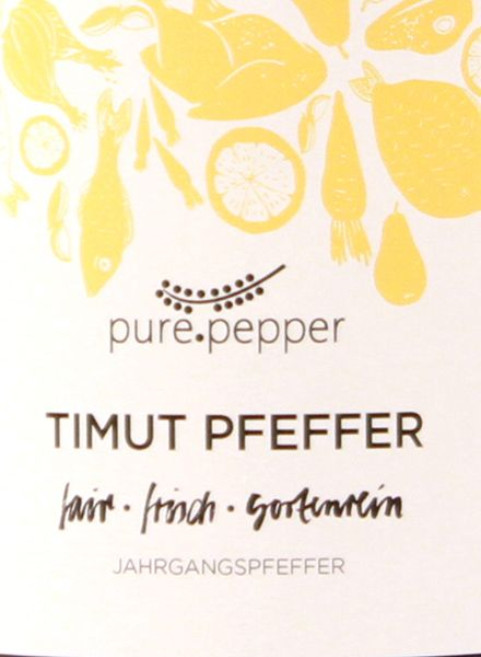 """Pure Pepper Pepper """"Pure Pepper"""" - various flavours - handpicked - sundry - natural"""