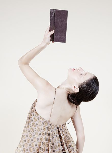 """Matke Starlight """"Simple clutch"""" made of soft italien suede leather with glitter finish"""