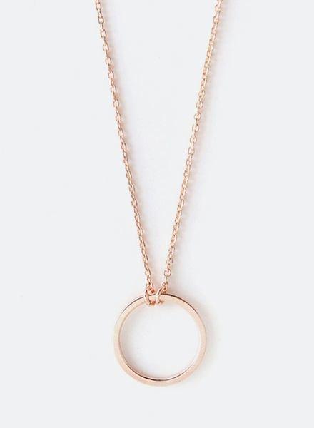 """SIBYLAI Necklace """"Circle Rose"""""""