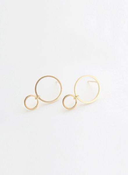 """SIBYLAI Earring """"No.4 Gold"""""""
